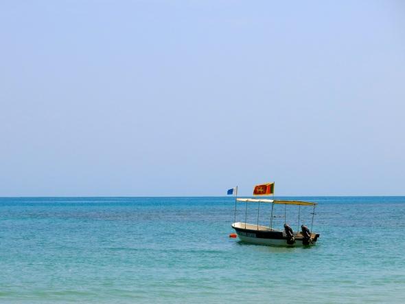 Boat at Pasikudah