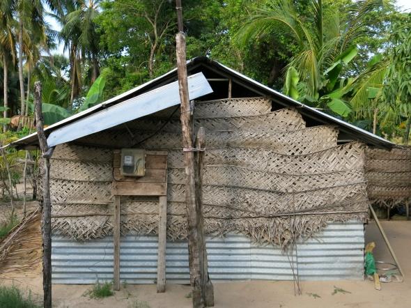 A temporary house